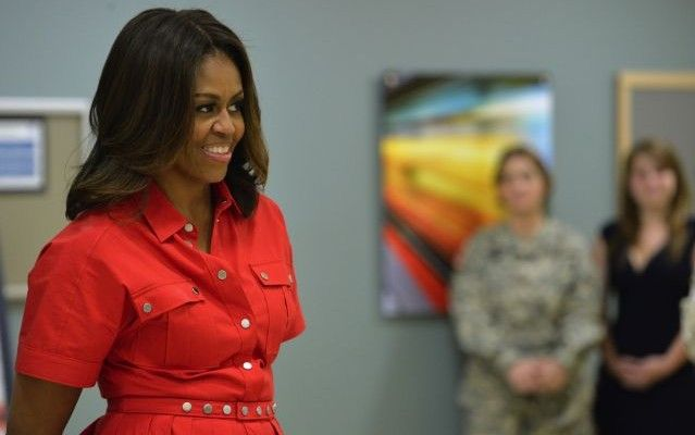 How Michelle Obama Surprised 28 Pregnant Military Moms ...