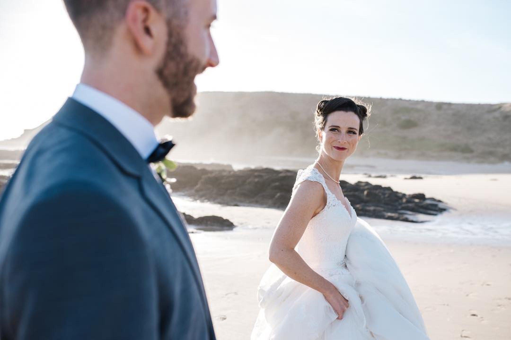 Beautiful Hayley on her #weddingday #weddinghair #weddingmakeup by @vivianashworth_ #weddinginspiration #weddings #weddingphotography @becmathesonphotography #love #happiness #rommance #glam #australiannativeflowers