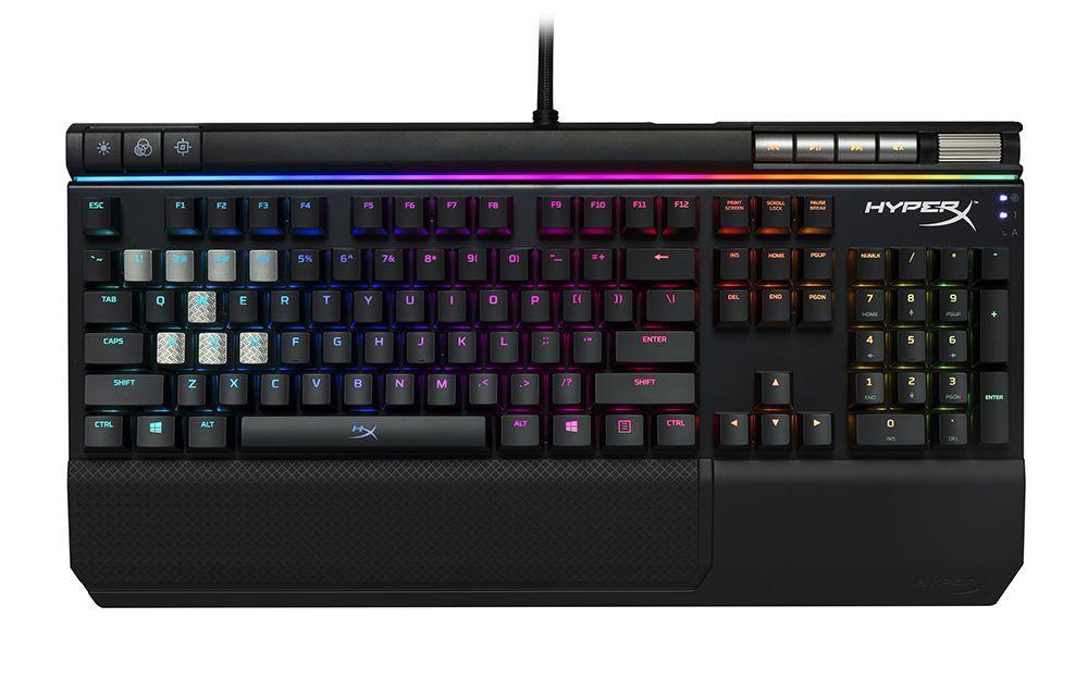 Hyperx goes high end with their latest keyboard keyboard