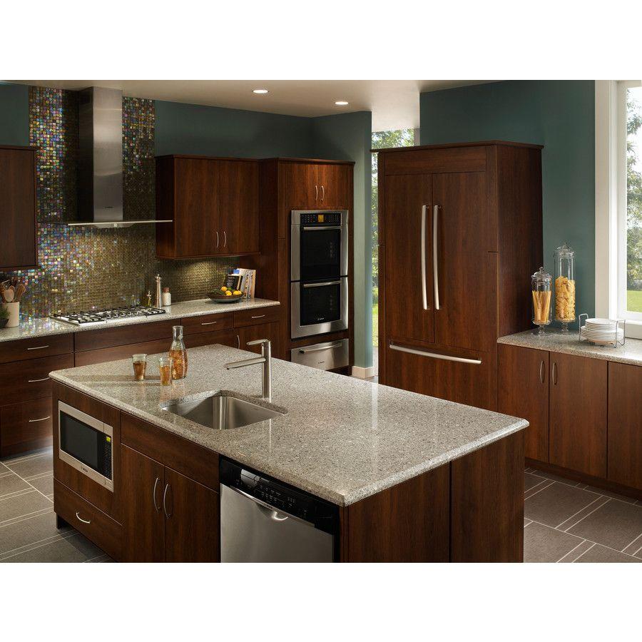 - Silestone Alpina White Quartz @ Lowe's Kitchen Countertops