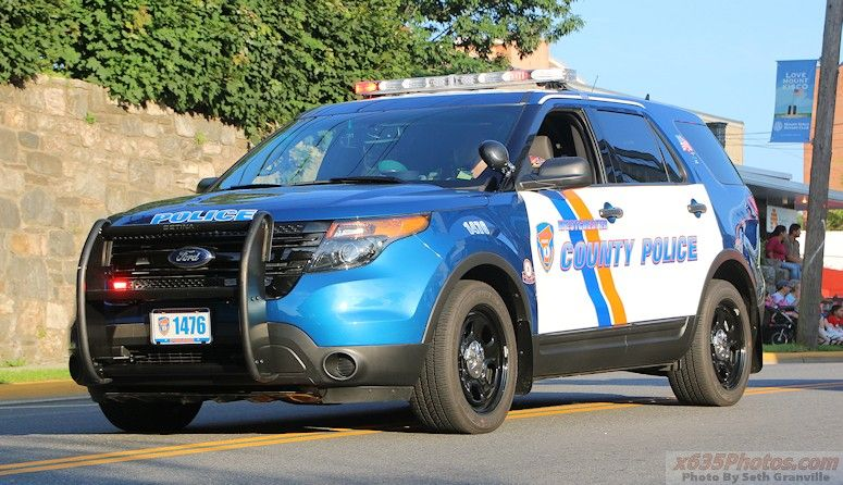 Westchester County, NY PD Unit 1476 Ford Police