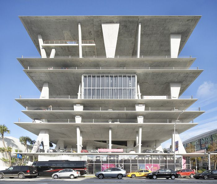 These Innovative Parking Garages Are Anything But: Why It's Unique: Intended To Complement A Pedestrian