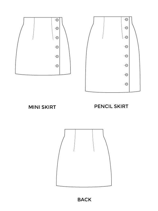 Arielle Skirt Best Sewing Patterns Ideas
