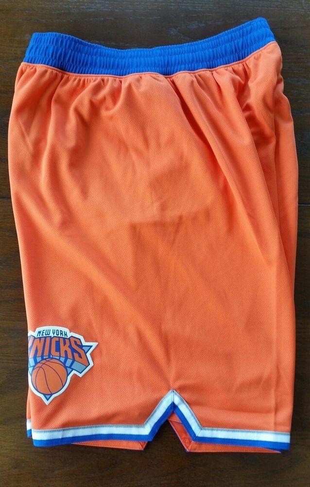 Mens NBA NY Knicks Alt Orange adidas swingman shorts Medium - Free SHIPPING   adidas  NewYorkKnicks ae3b6a8d2a