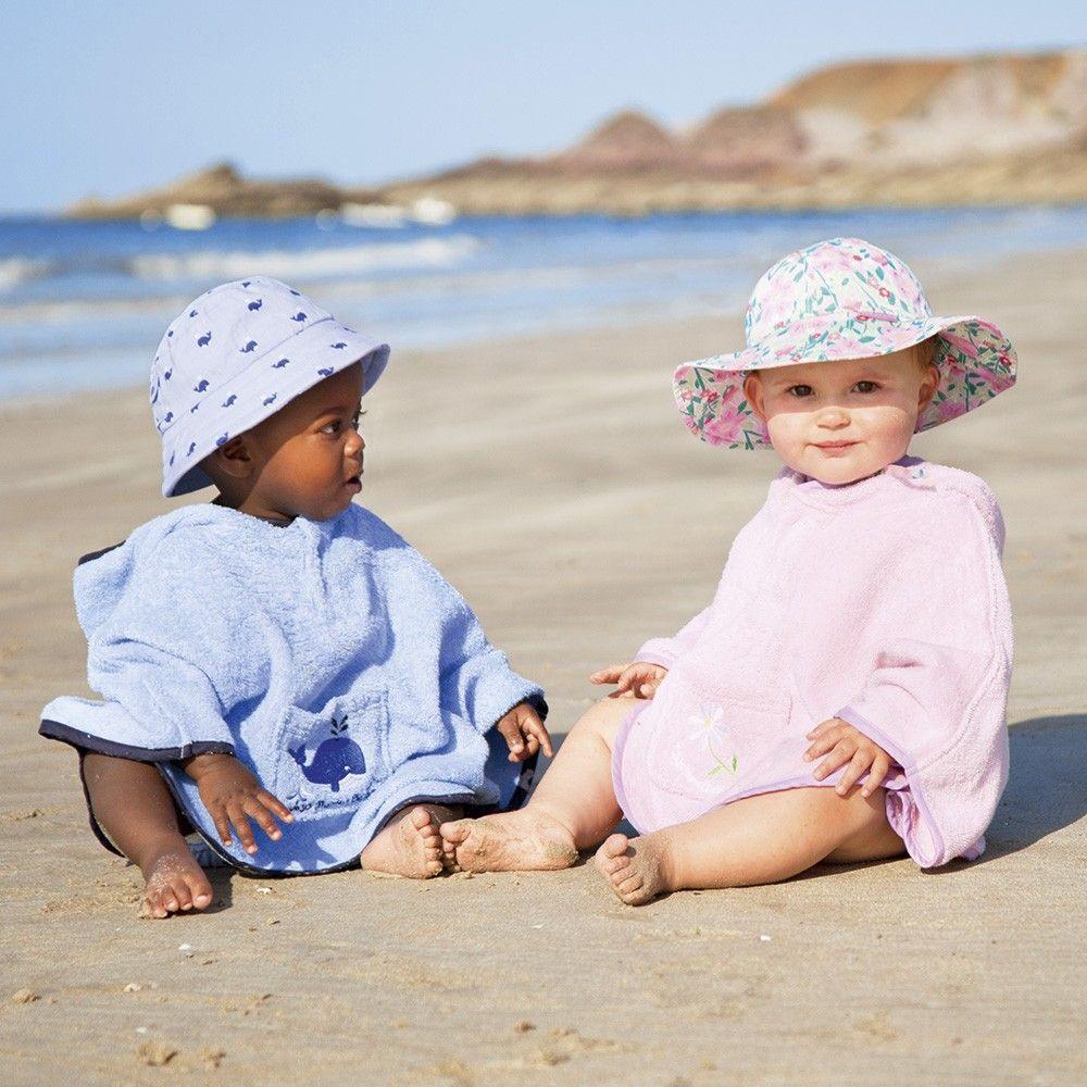 2ddd4ef9667aa Toalla Poncho para playa y piscina para Bebés y Niños