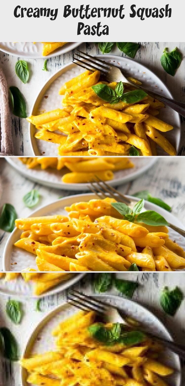 Photo of Creamy Butternut Squash Pasta – RECIPE