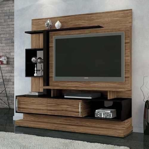 Modular Panel Mesa Tv Rack Lcd Muebles Ryo Modelo Cuyen | Mueble tv ...