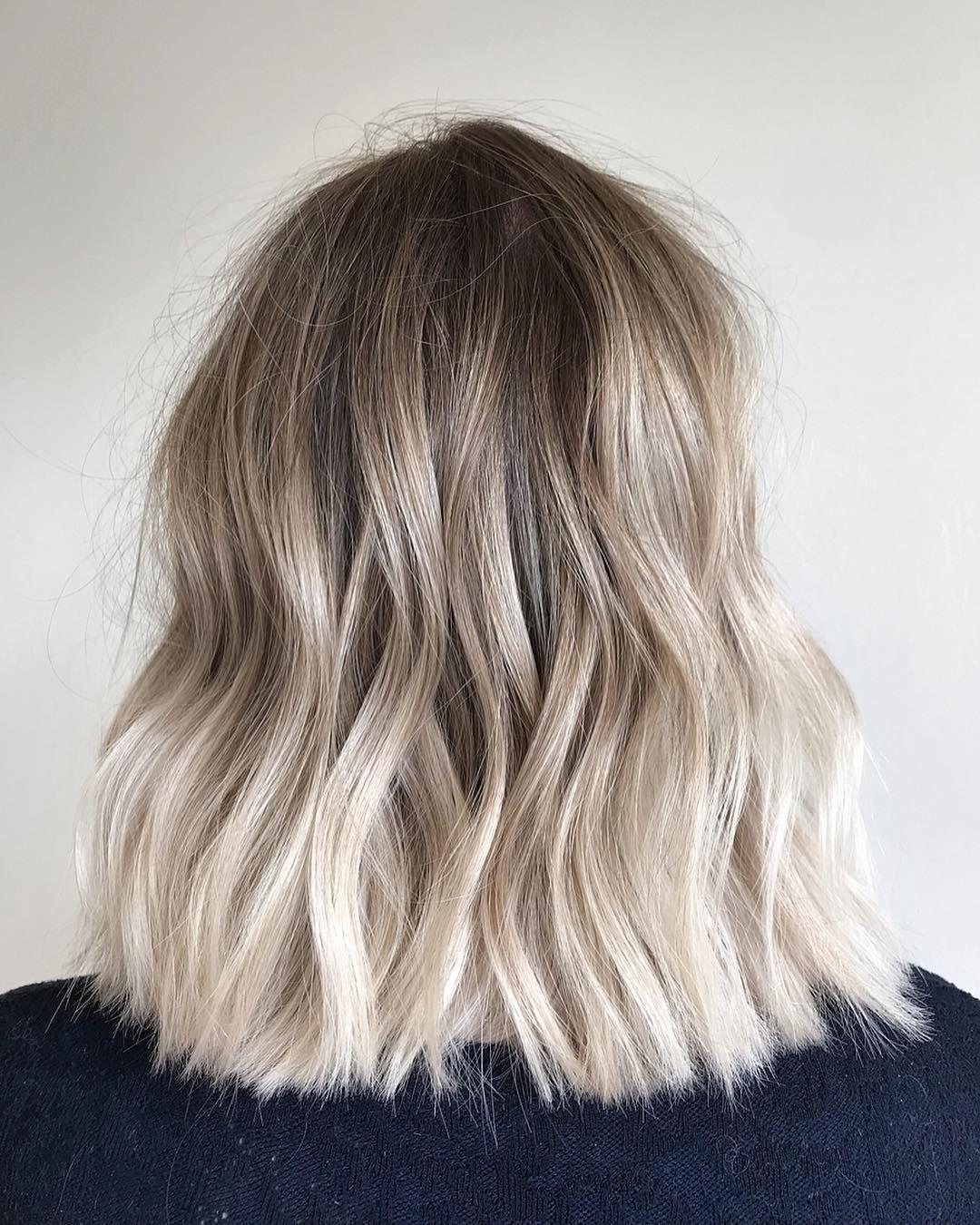 Caitlin Adli Kullanicinin Blonde Panosundaki Pin Kalin Saclar Sarisin Sac Modelleri Sari Balyaj
