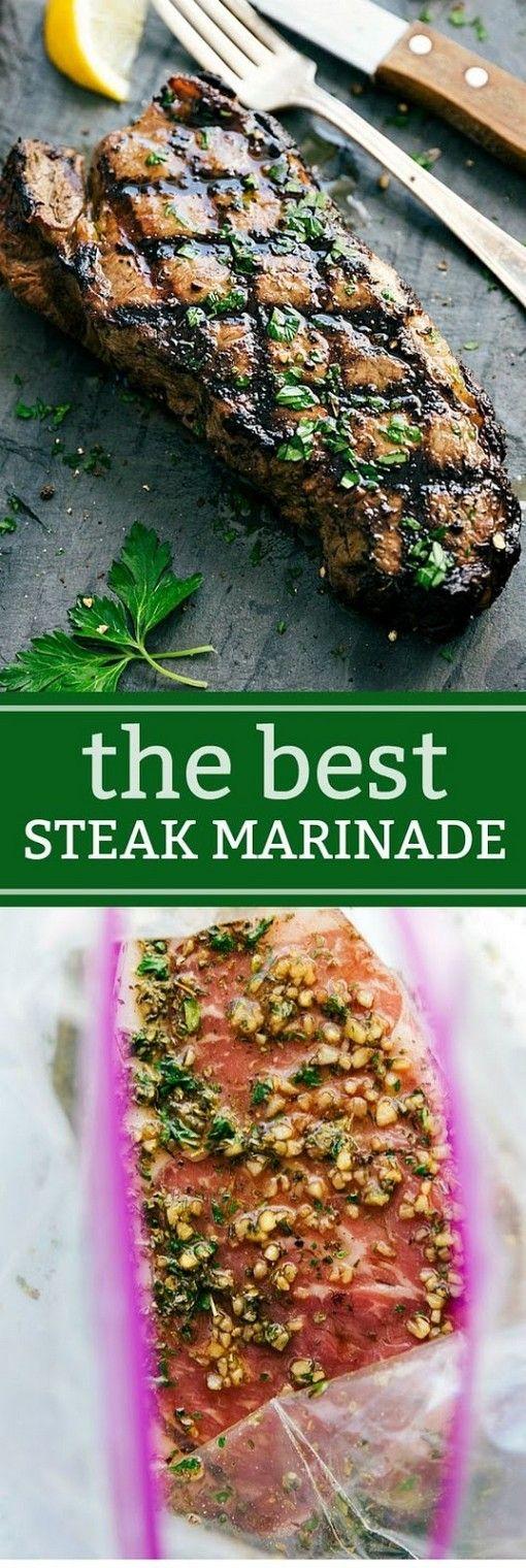 Easy Steak Marinade | Steak Recipes #grilledsteakmarinades
