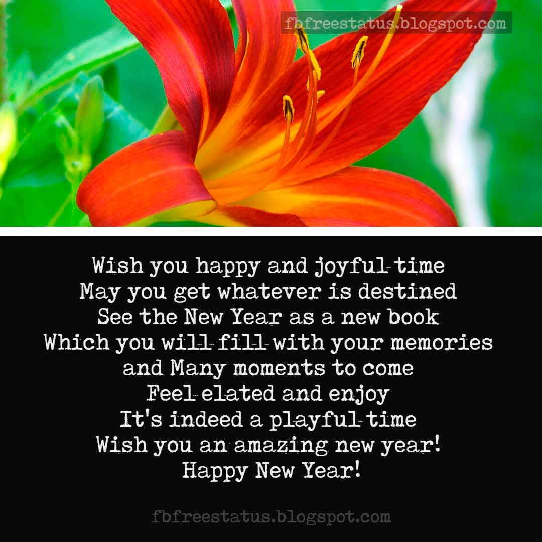 New Year Messages for Friends with New Year Wishes Images