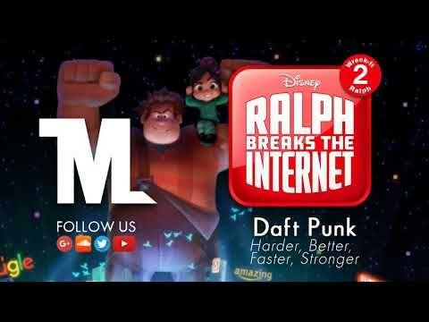 Wreck It Ralph 2 - Official Trailer Song (Daft Punk ... Wreck It Ralph Trailer Song