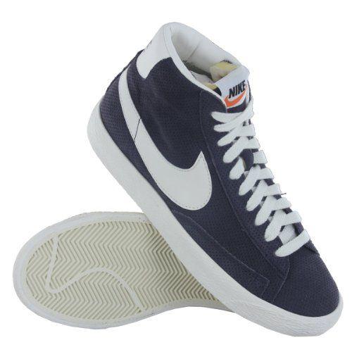 Nike Blazer Daim Vert Vintage Milieu Premium Pour Femmes Formateurs Amazon