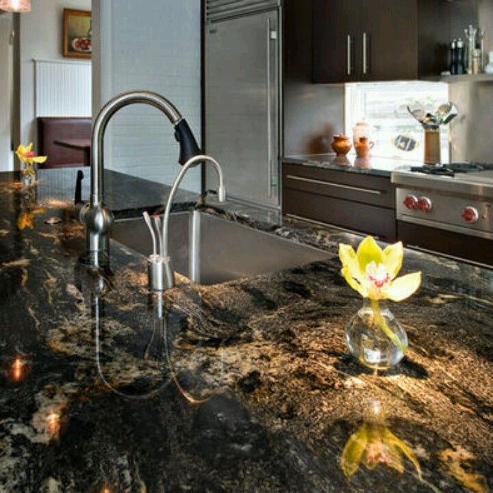 Cosmic Black Granite- Idk If I Could Ever Choose Granite