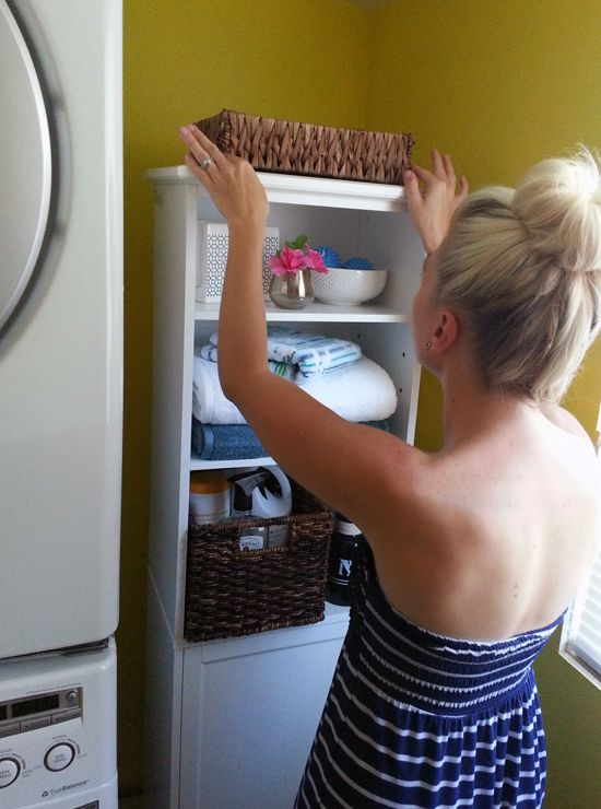 123Vacation Crashing: A Quick Laundry Room Update