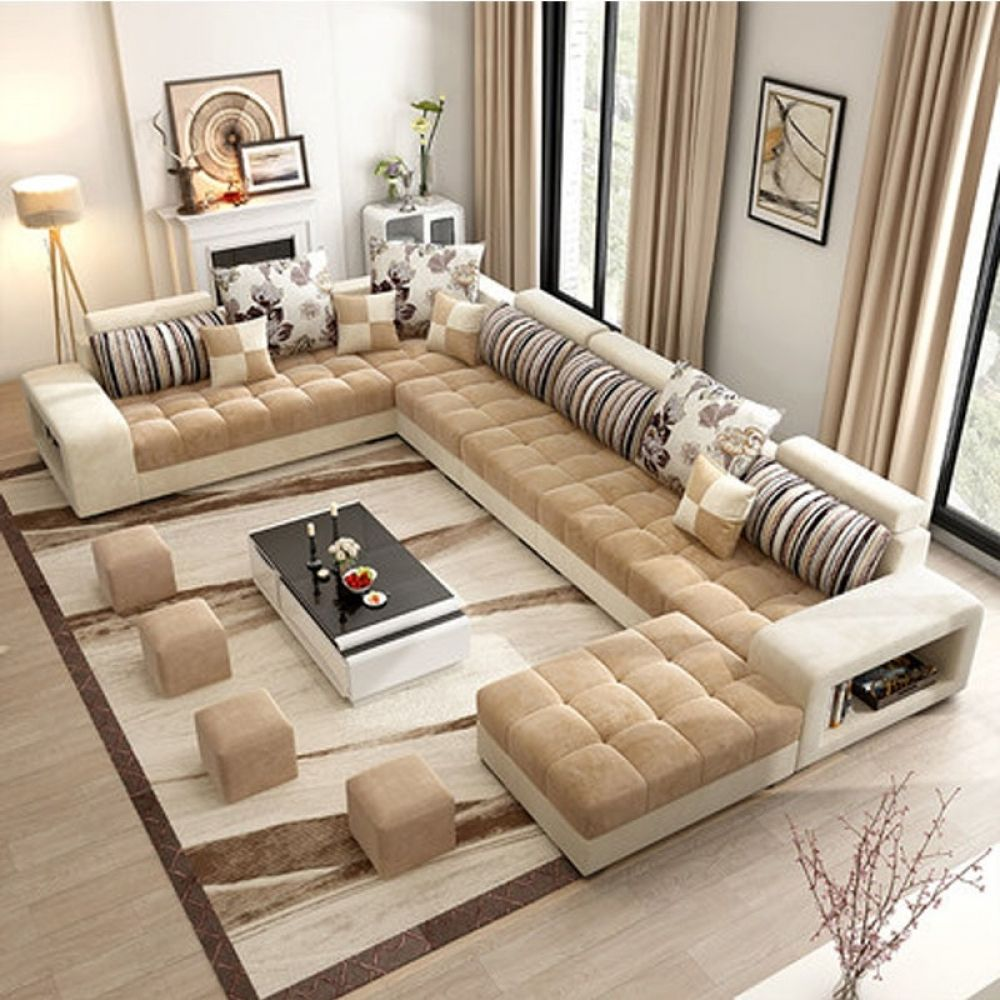 Hot Sale Modern Nordic Living Room Sofa Sets With Images Living Room Sofa Set Bed Furniture Design Cheap Living Room Sets