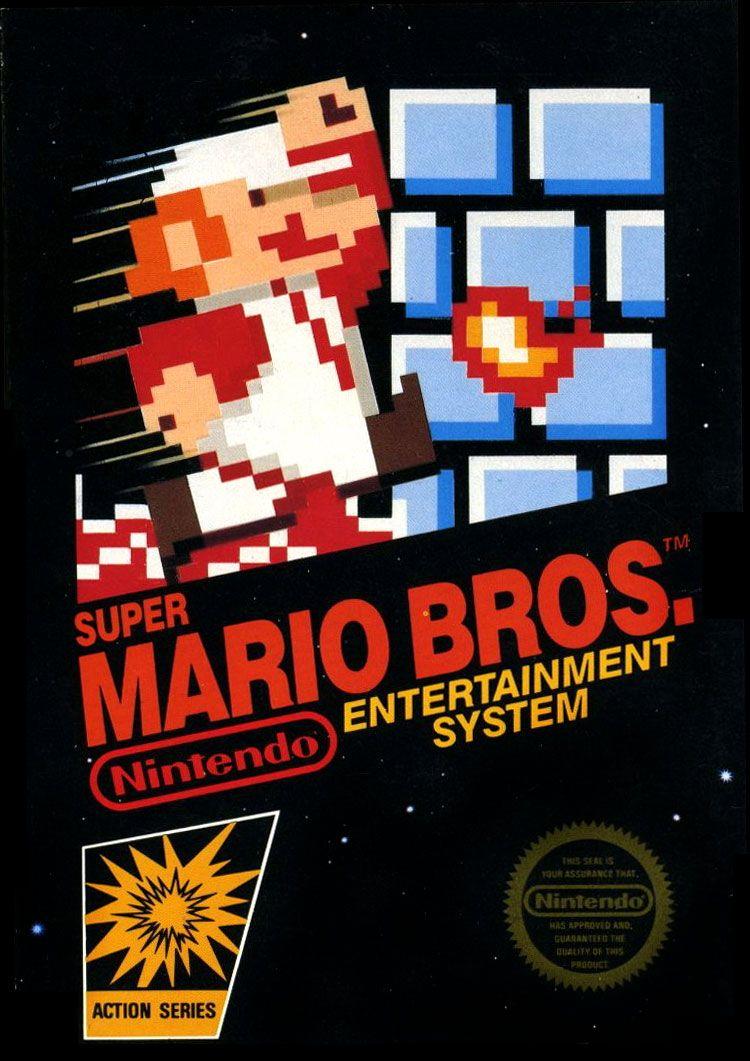 Super Mario Bros 1985 For Nintendo Super Mario Bros Mario Bros Super Mario Brothers