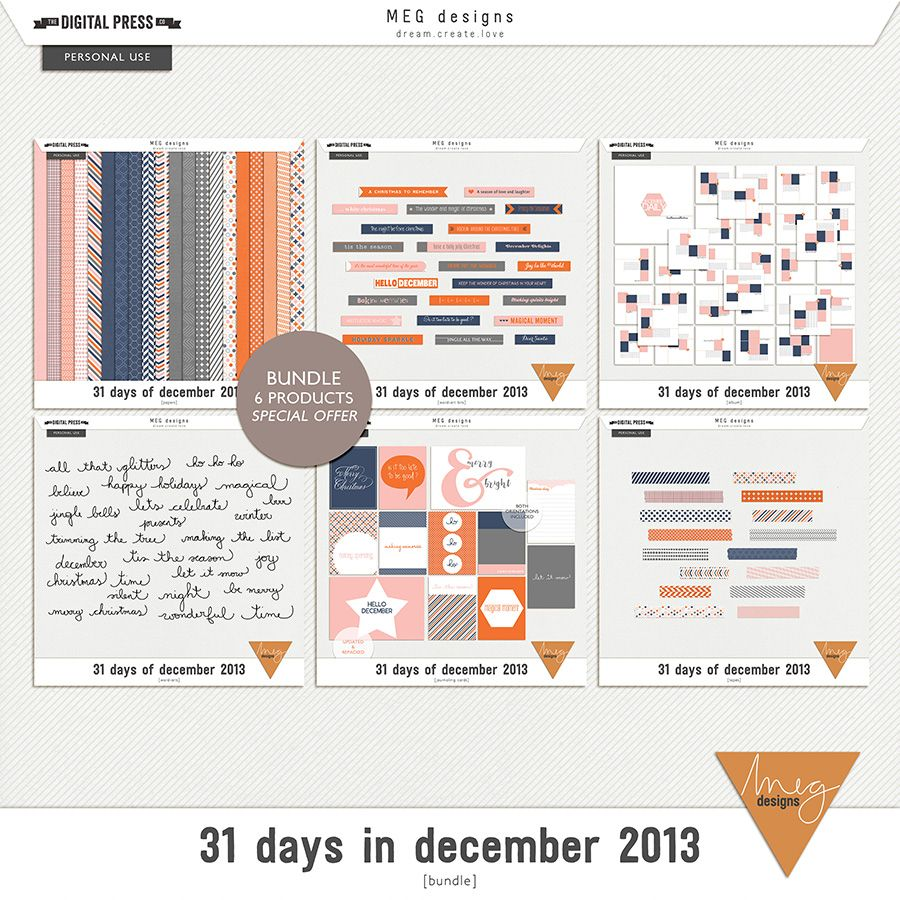 31 days in december 2013   bundle