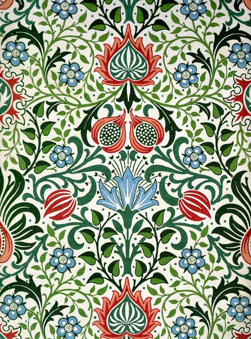Persian design by William Morris Artist Morris, William