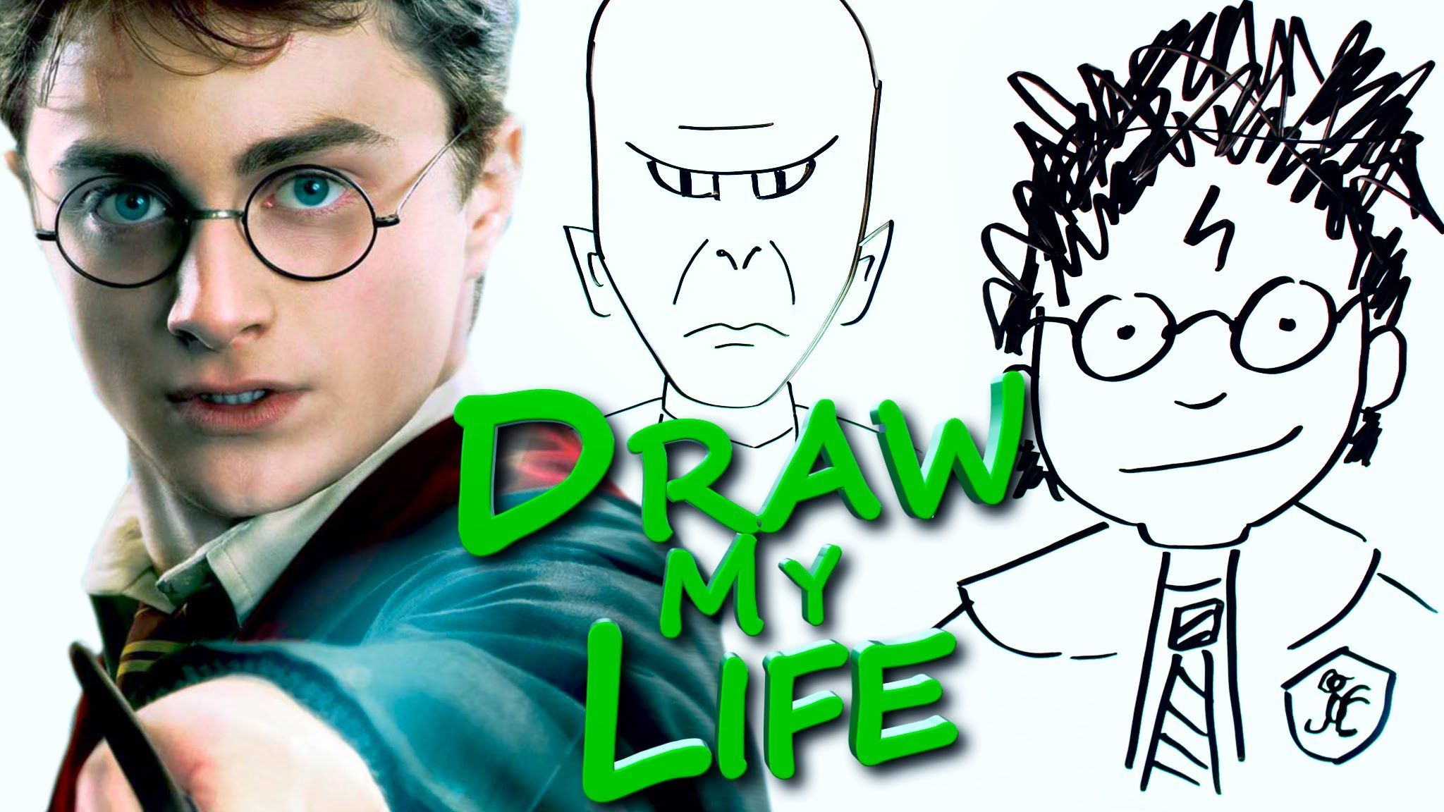 """DRAW MY LIFE - Harry Potter this makes my get tears and chills, Harry Potter will always have a place in my heart """"Always"""""""