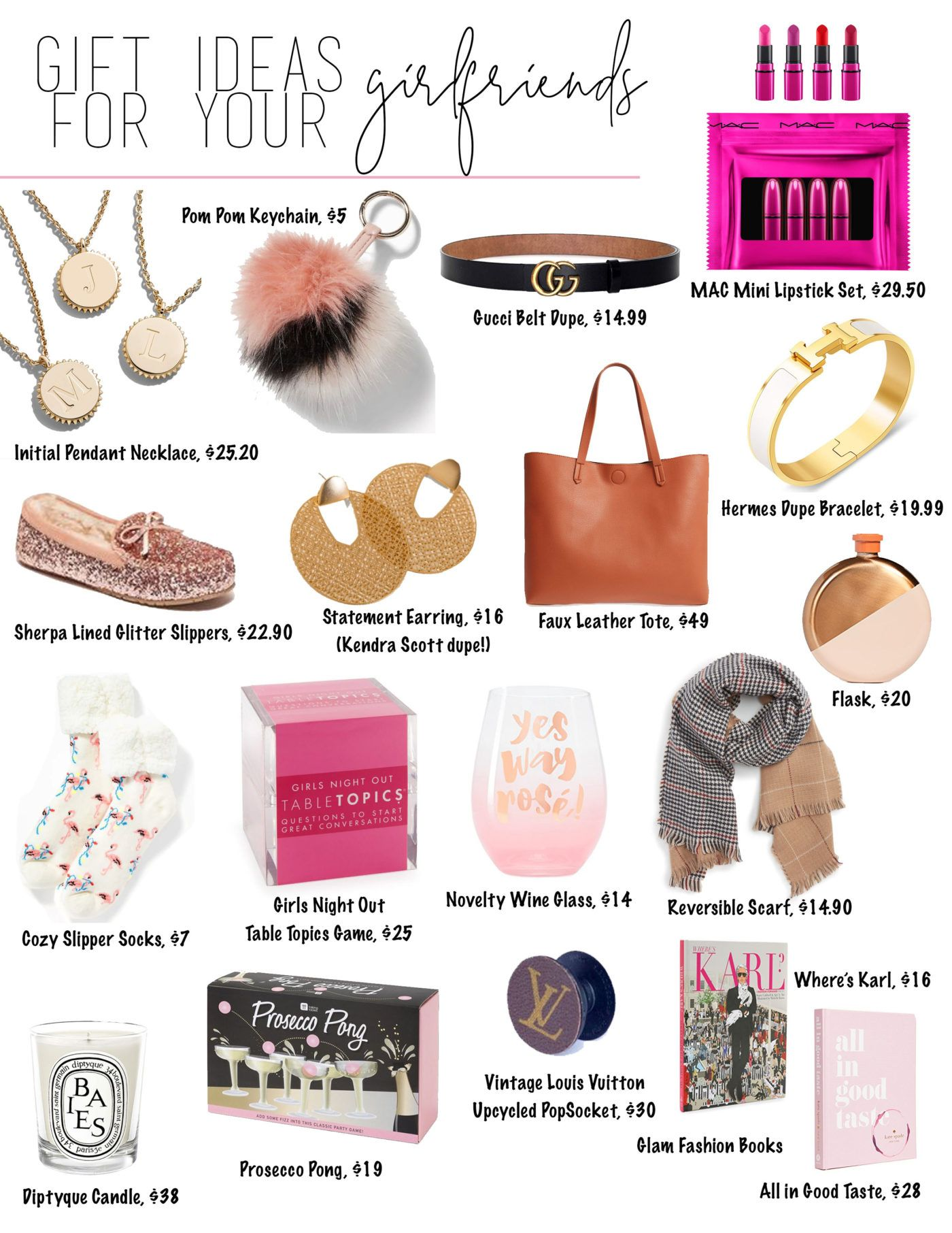 Gift Ideas For Women Gifts For Your Girlfriends Stephanie Pernas Girlfriend Gifts Gifts For Your Girlfriend Affordable Christmas Gifts