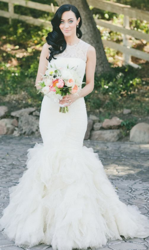 Wedding dress idea; Featured Photographer: Onelove Photography