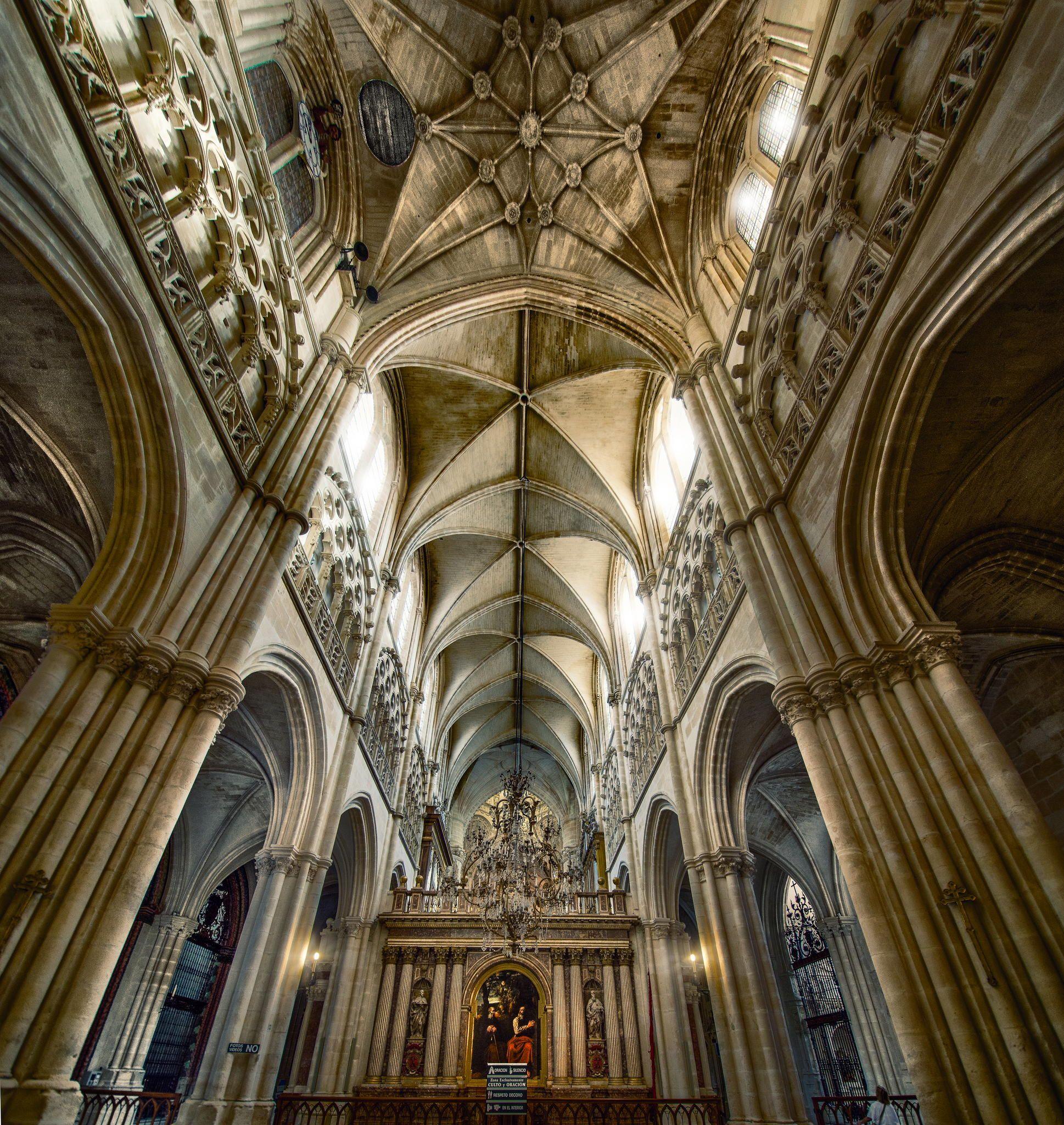 Burgos Cathedral.Spain