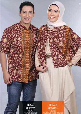 #Cardigan #batik hadir serasi dengan #koko