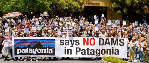 Stew Pot Protest At Patagonia Headquarters For A Patagonia Without Dams Take Action Today Patagonia Patagonia Outdoor Outdoor Outfit