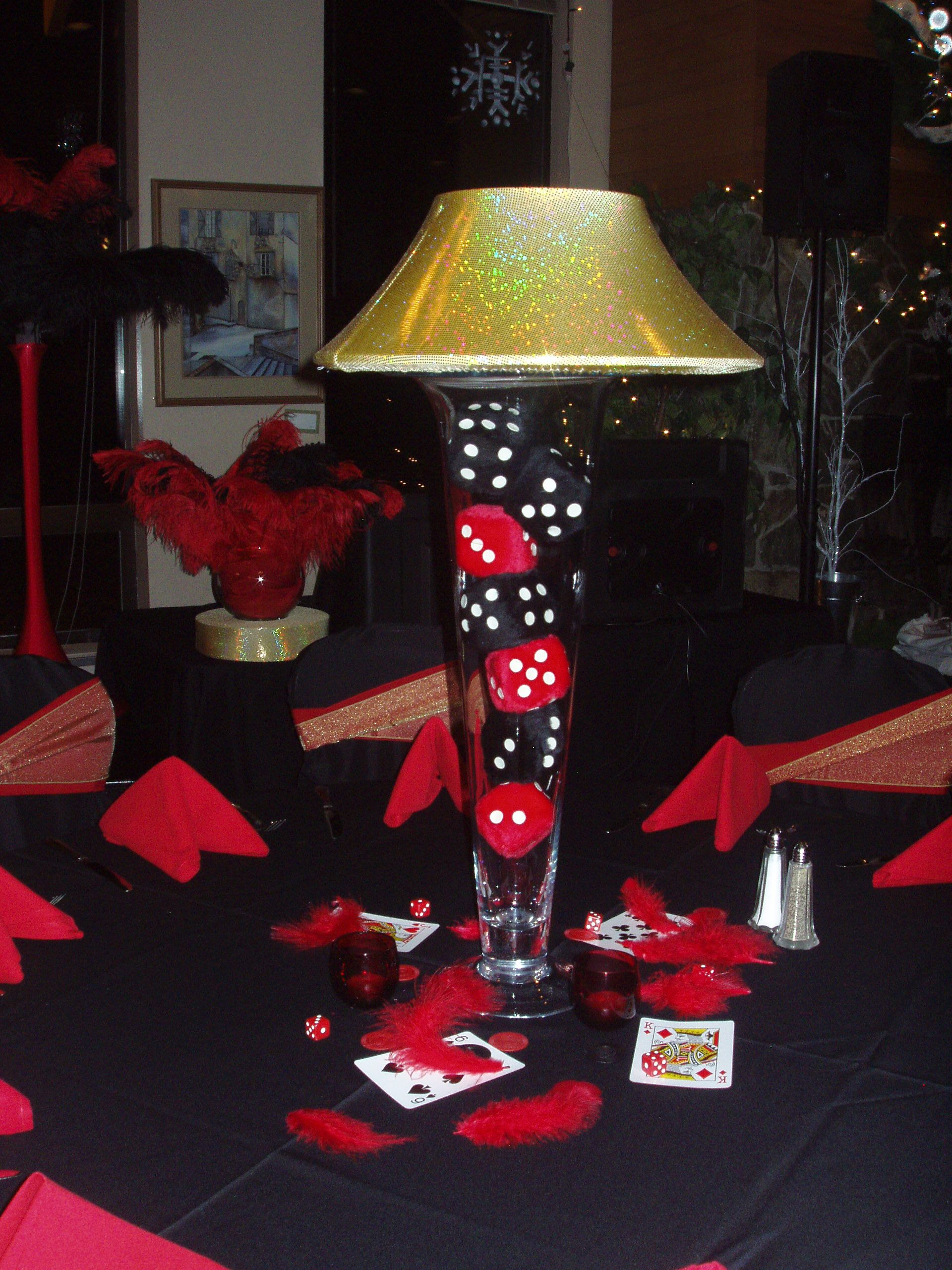 Centerpieces For Casino Theme Party Black Jack Igrica