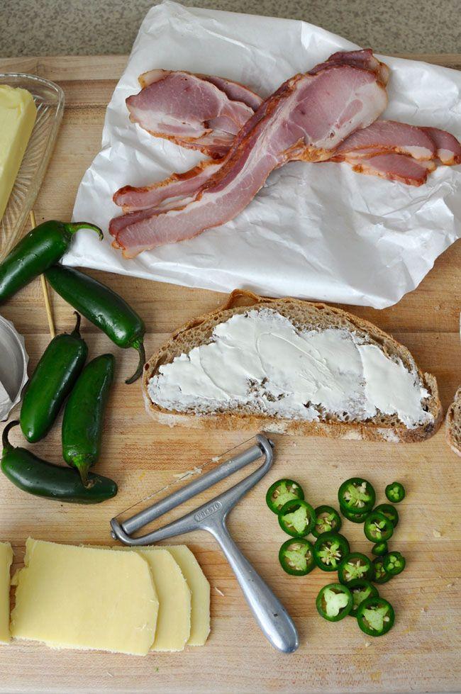 Jalapeño Popper Grilled Cheese Recipe | ¡HOLA! JALAPEÑO