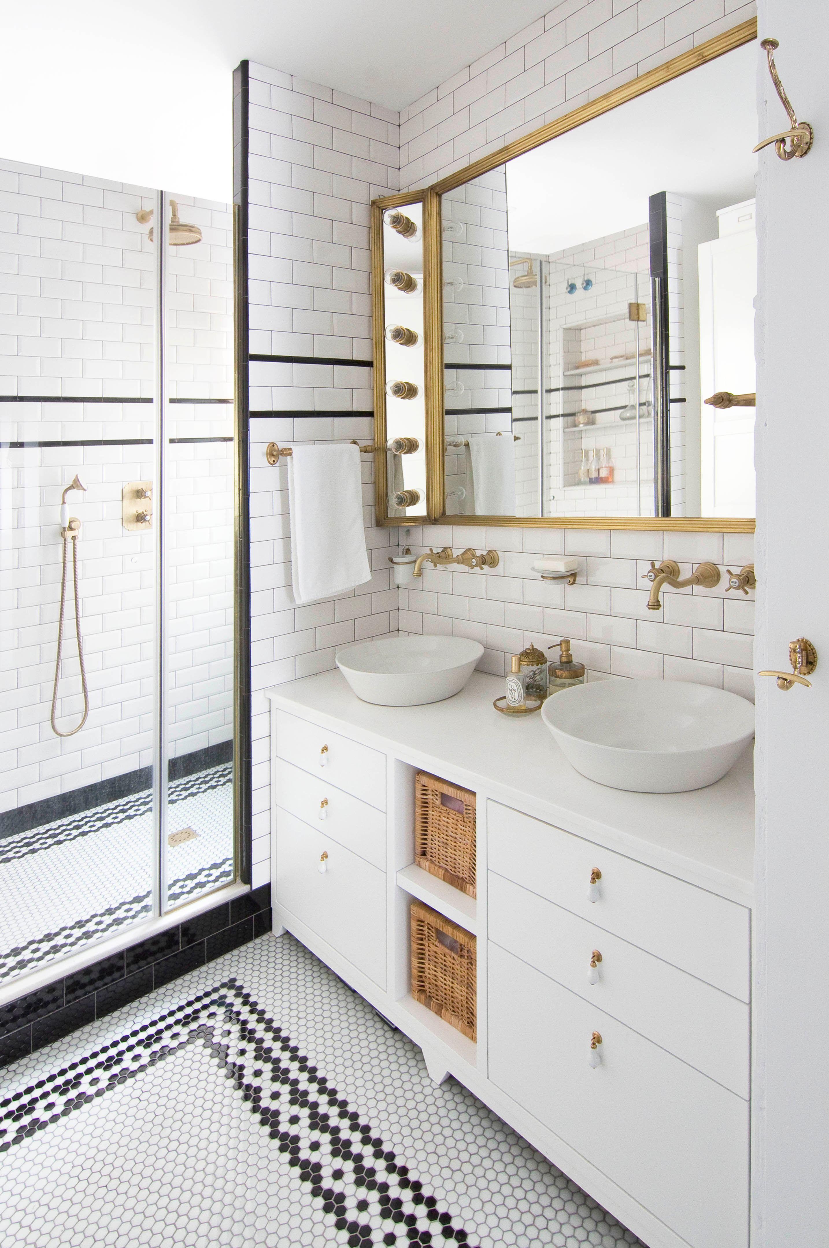 Gresite en la decoración del baño | Diseños de baldosas de ...