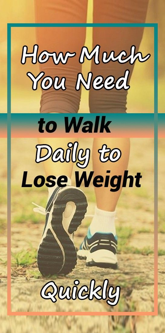 How Much You Need to Walk Daily to Lose Weight Quickly