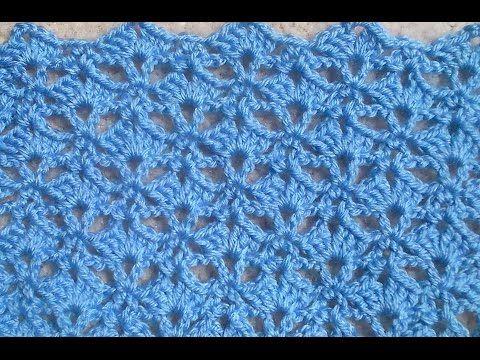 Crochet Pattern - Umbrella Shell Crochet Stitch - YouTube | Knitting ...