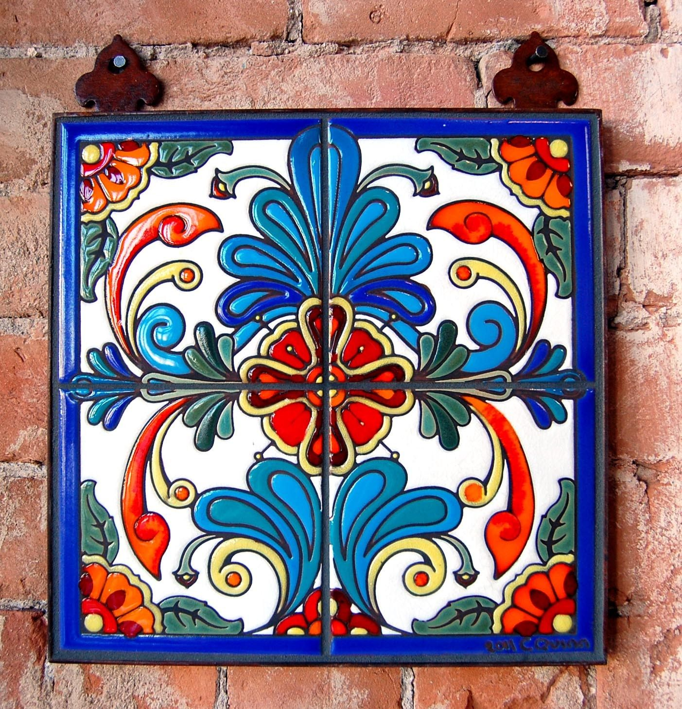 talavera tile decorating with talavera tiles pinterest mexican high relief tiles for kitchen backspalsh wall counter bath shower and stair risers