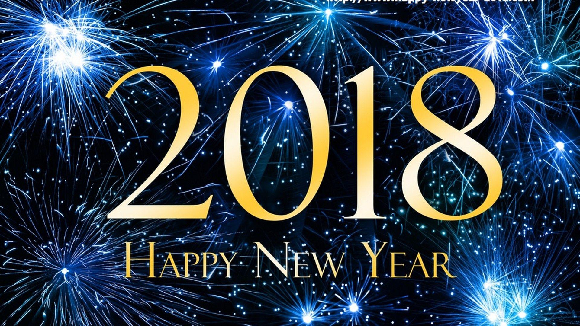 2018 Happy New Year Wallpaper 2018 Wallpapers Hd Wallpaper