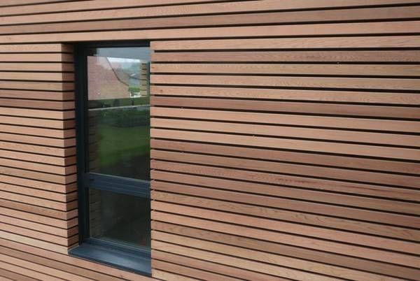 Voorkeur Houten gevelbekleding (Voor een warmere look leveren wij houten &TU22