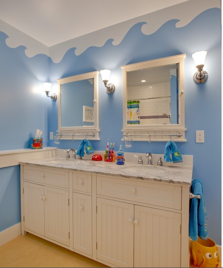 Ocean Decor For Bathroom: Design For Bathrooms For Kids