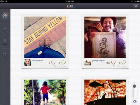 lovely ui (feed onIris App)