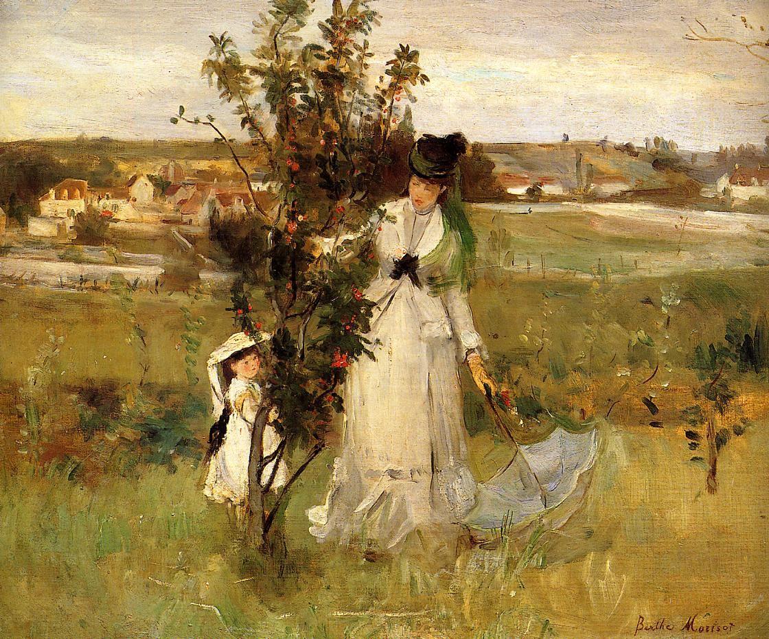 modifier modifier le code modifier Wikidata Berthe Marie Pauline Morisot née le 14 janvier 1841 à Bourges et morte le 2 mars 1895 à Paris est une artiste