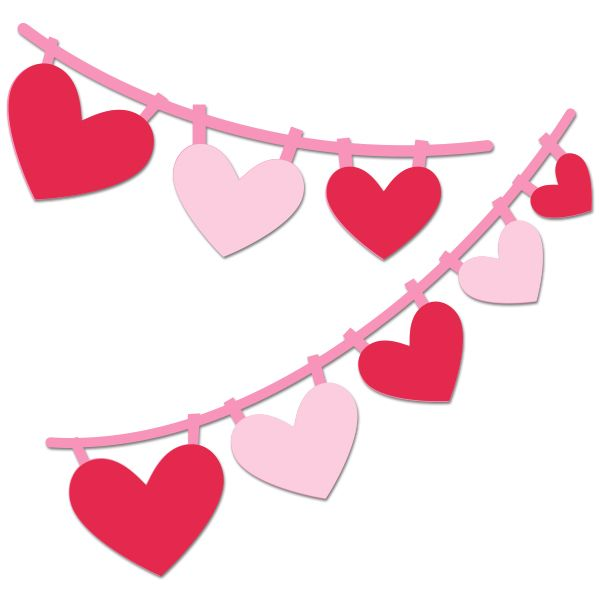 http://digiplayground.com/Heart-Pennant-Banner-SVG-cuts-PNG ...