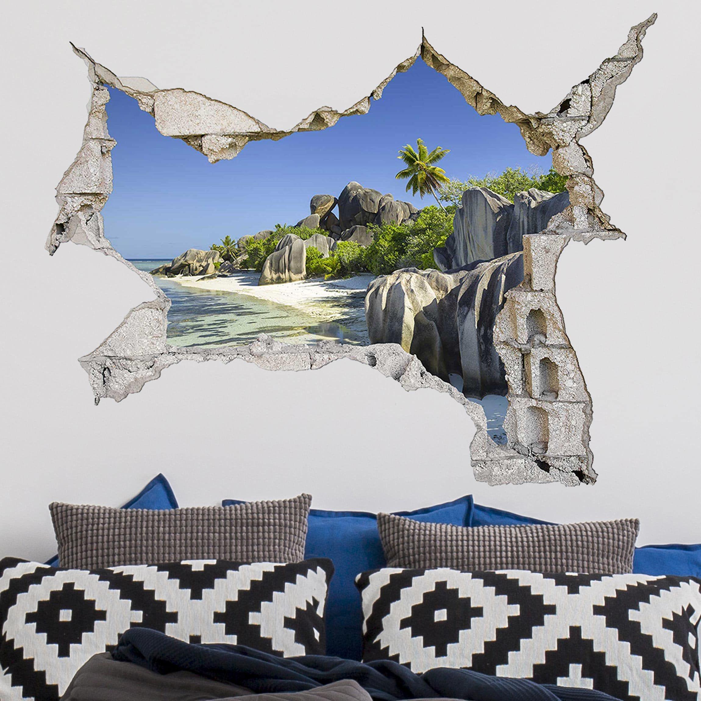 Spiaggia Dei Sogni Da Oggi Su Adesivo Murale 3d Adesivi Murali Murale Adesivi Per Pareti