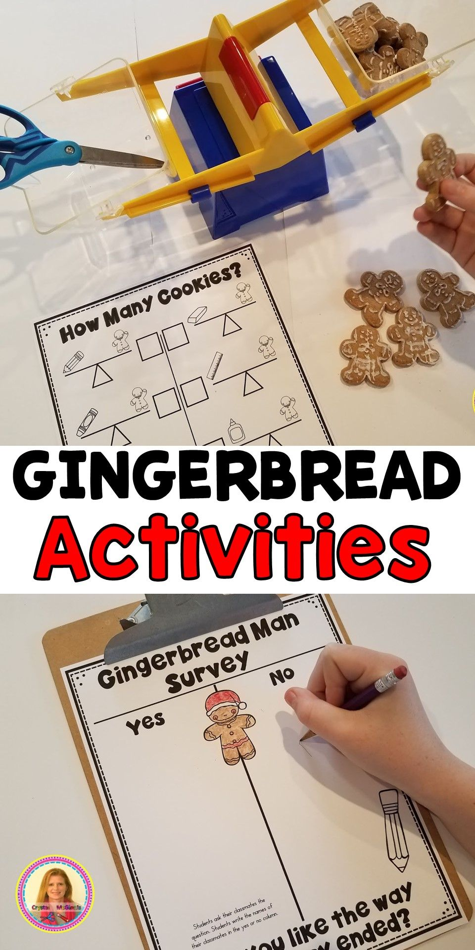 Activities to use while you read The Gingerbread Man story