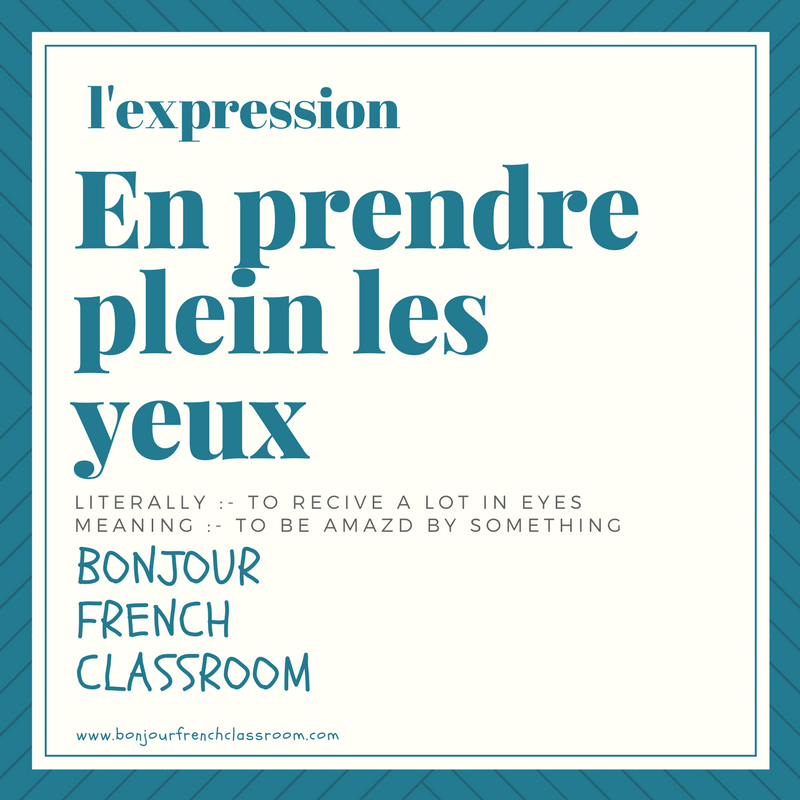Lexpression Du Jour When You Are Amazed By Someone