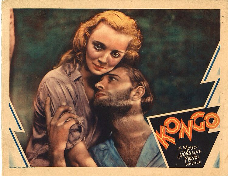 Lobby Card from the film Kongo