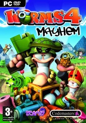 Worms 4 Mayhem hack online