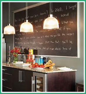 Live Love and Repeat: DIY - Writable Walls