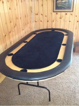 Tournament Style Poker Table Reduced MUST GO Craigslist