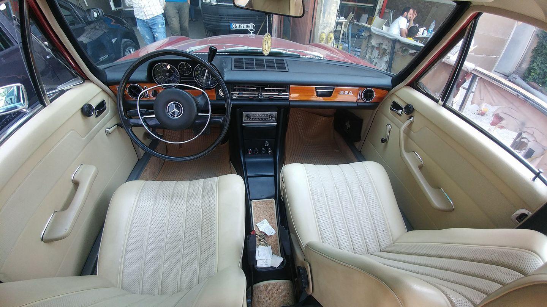 mercedes w115 interior design   Mercedes w115, Classic mercedes, Mercedes