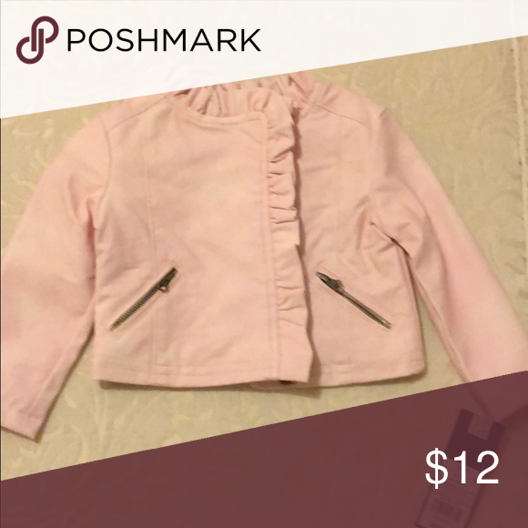 Adorable Baby Girl Pink Faux Leather Jacket Faux Leather Jackets Jackets Leather Jacket