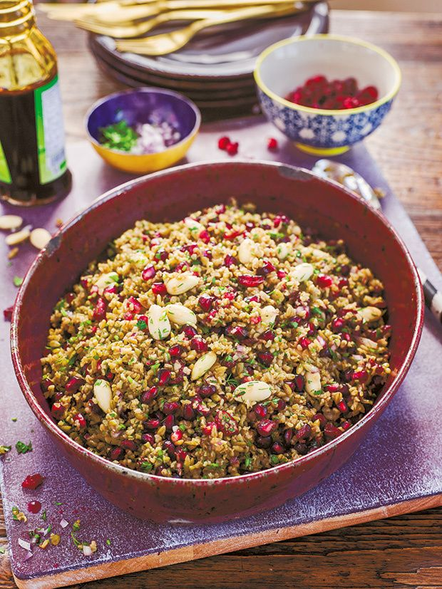 Freekeh salad from sirocco by sabrina ghayour mpa recetas chef sabrina ghayour shares three recipes from her new middle eastern inspired cookbook sirocco spiced beetroot yogurt freekeh salad and chicken and forumfinder Choice Image